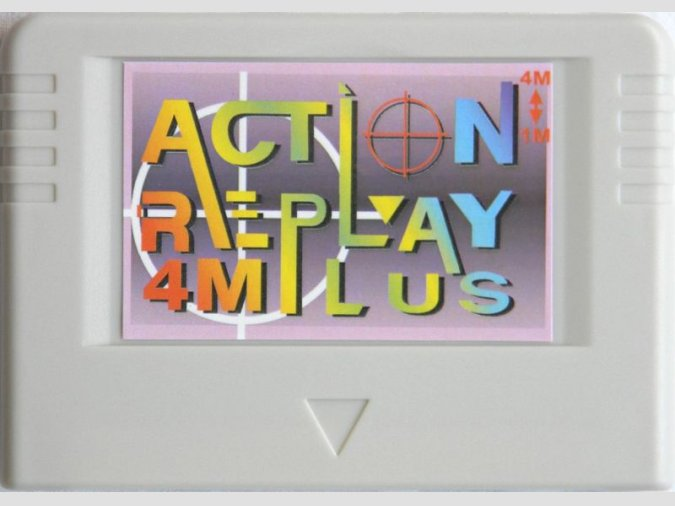 ACTION REPLAY PLUS PARA SEGA SATURN