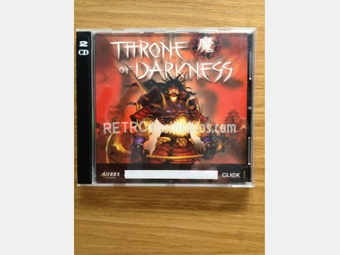 THRONE OF DARKNESS (Rol) PC