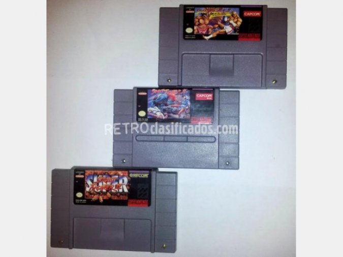 3 Street fighters, Version NTSC