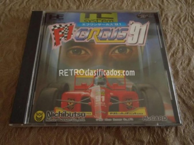F1 Circus '91 (1991). PC Engine