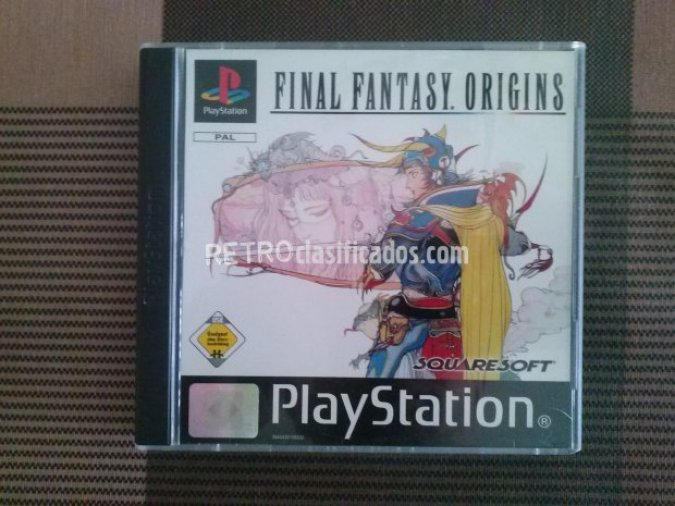 FINAL FANTASY ORIGINS PS1 PAL