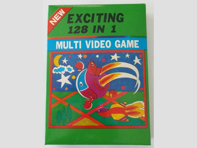 MULTI VIDEO GAME. 128 JUEGOS DIFERENTES EN UN SOLO CARTUCHO.