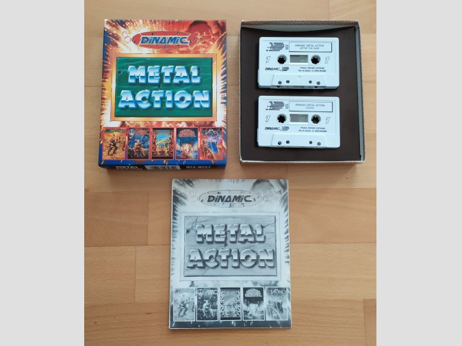 Pack MSX Metal Action Dinamic