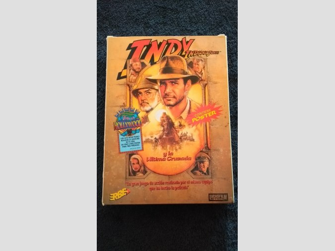 INDIANA JONES INDY MSX