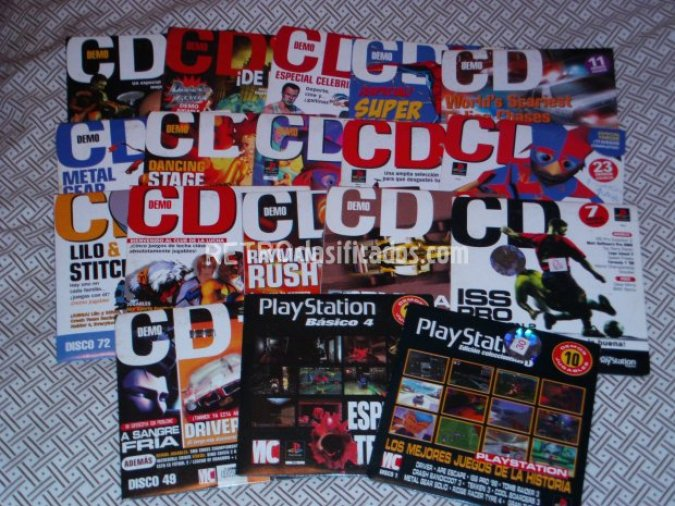 Lote CDs revista PlayStation Magazine