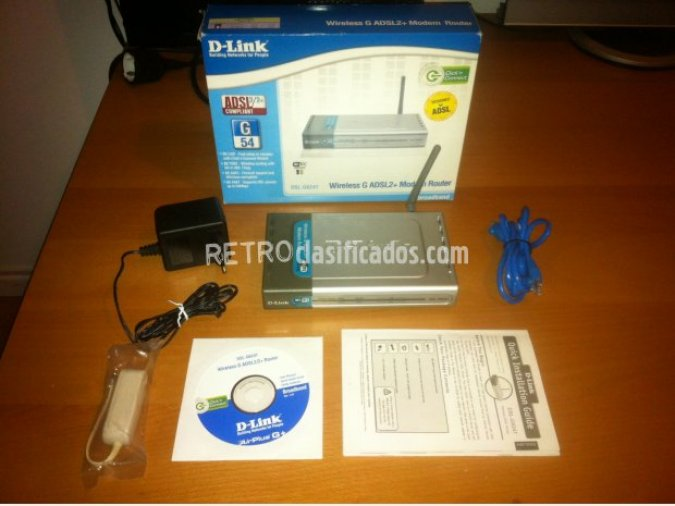 Modem router wireless D-Link DSL-G624T