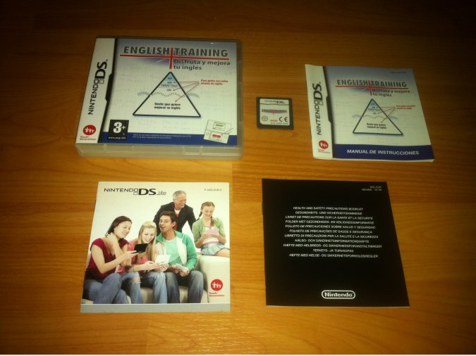 English Training Nintendo DS
