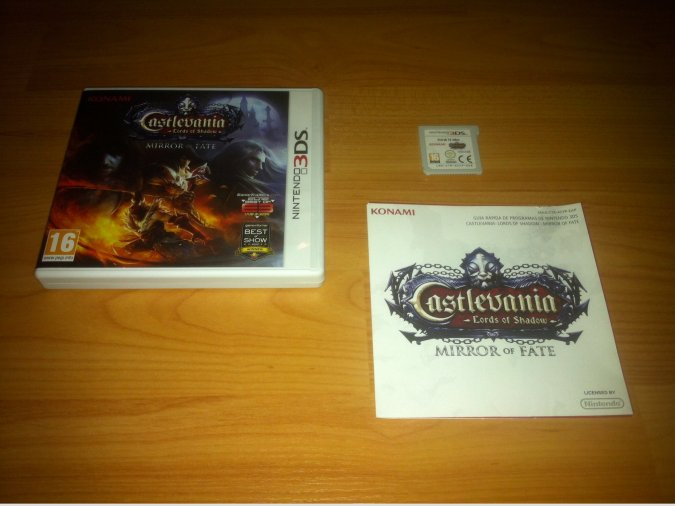 Castlevania Lords of Shadow Mirror of Fate N3DS