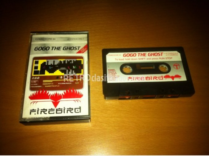 GoGo the Ghost juego original C64