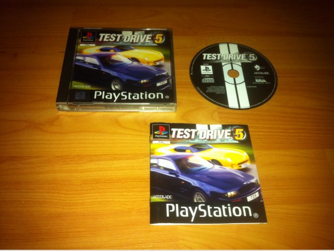 Test Drive 5 Play Station PSX