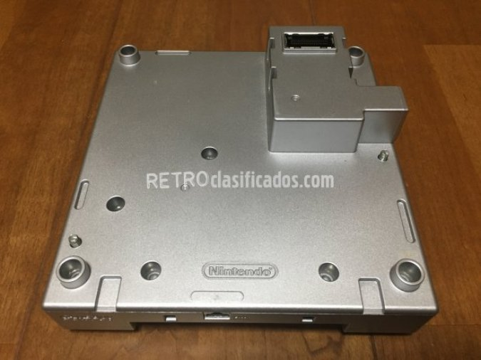 Game Boy Player color plata