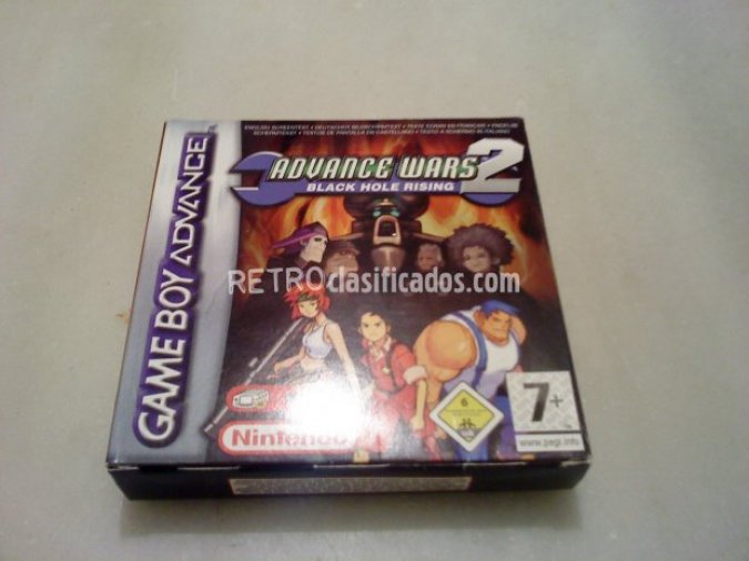 ADVANCE WARS 2 BLACK HOLE RISING PAL ESP