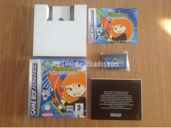 Kim Possible GBA Disney COMPLETO