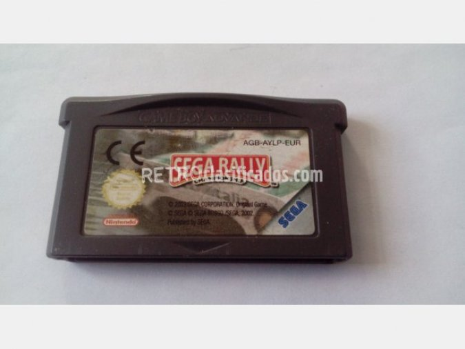 GAMEBOY ADVANCE SEGA RALLY GBA GAME BOY