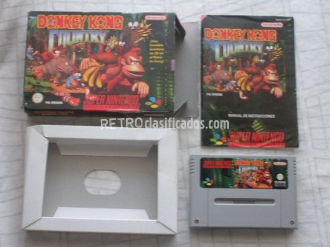 DONKEY KONG COUNTRY Pal España