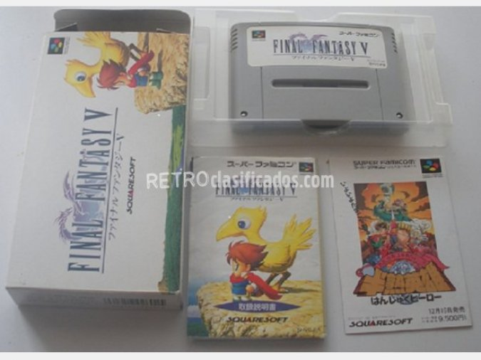 FINAL FANTASY V para SUPER NINTENDO