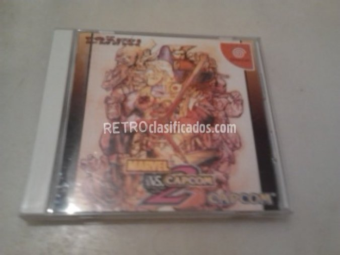 MARVEL VS CAPCOM 2 NTSC-J VENDIDO