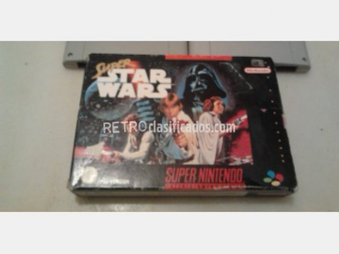 STAR WARS SUPERNINTENDO SNES COMPLETO VENDIDO