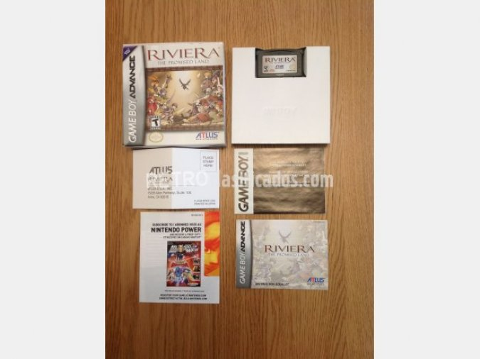 RIVIERA: THE PROMISED LAND GBA COMPLETO