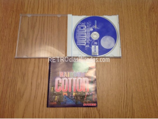 RAINBOW COTTON DREAMCAST JAP COMPLETO