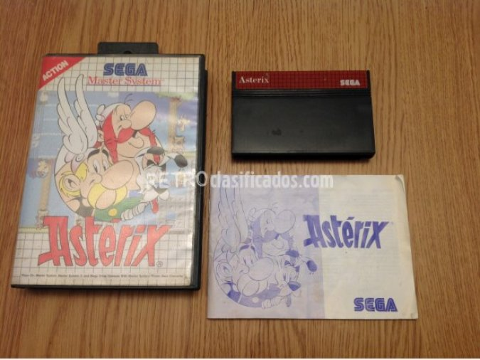 ASTERIX MASTER SYSTEM PAL