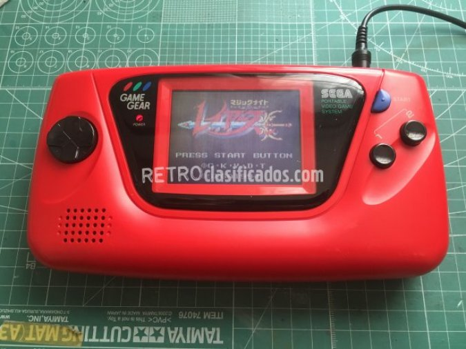 Game Gear roja japonesa