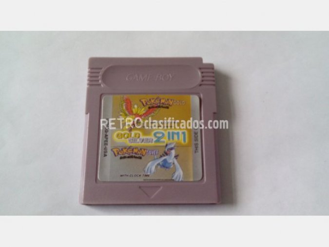 GAMEBOY POKEMON PLATA Y ORO 2 EN 1