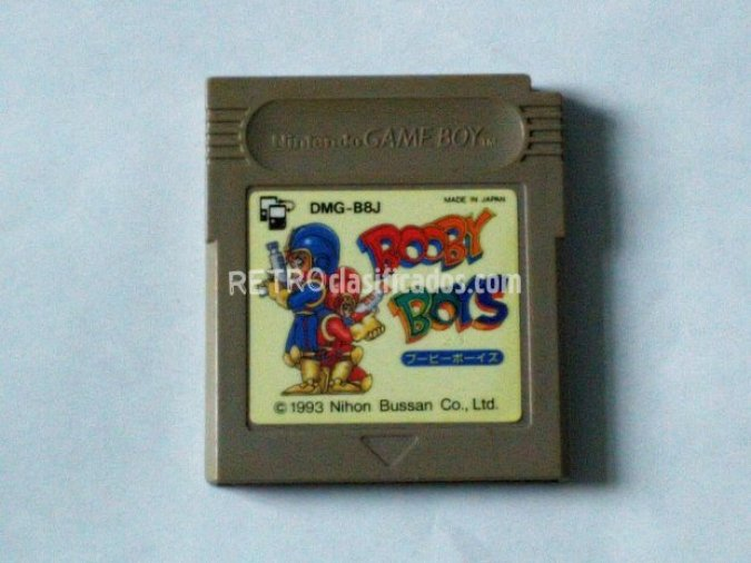GAMEBOY BOBBY BOYS RARO GAME BOY