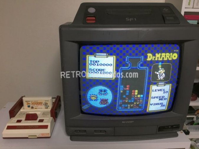 Sharp 14G-SF1 (televisor+Super Famicom)