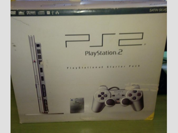 PLAYSTATION 2 SLIM BLACK