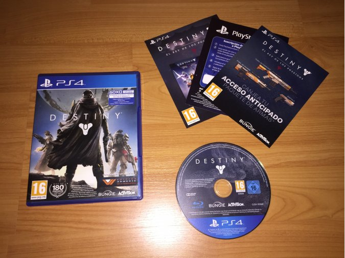 Destiny juego original PlayStation 4