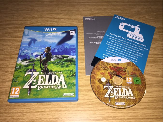 The Legend of Zelda Breath of the Wild Wii U