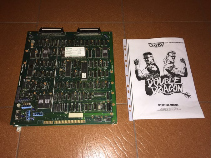 Double Dragon placa original jamma arcade