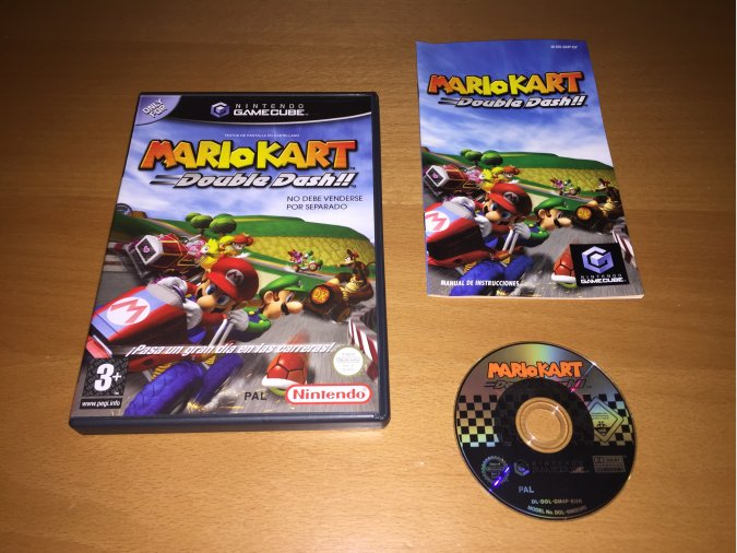 Mario Kart Double Dash juego original Gamecube