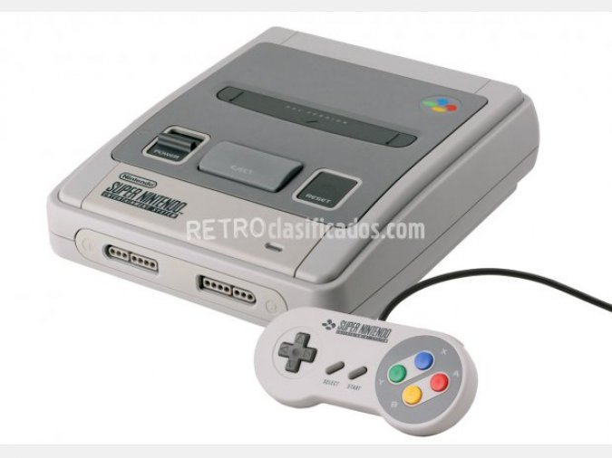 Vendo Super nintendo en pefecto estado