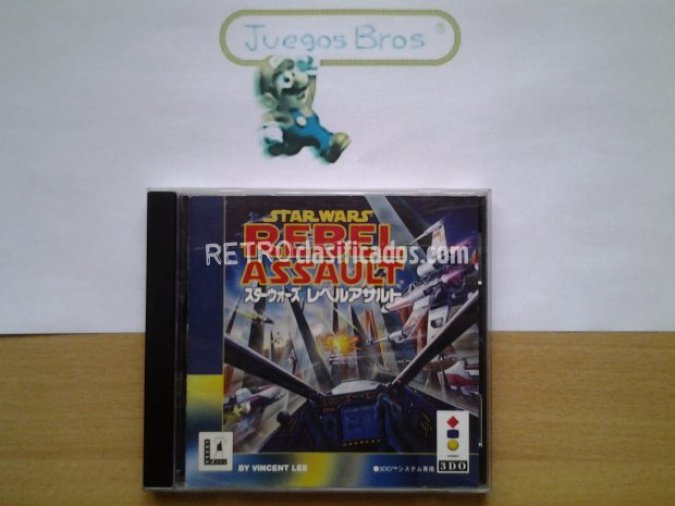 Star Wars Rebel Assault 3DO Lucas Arts