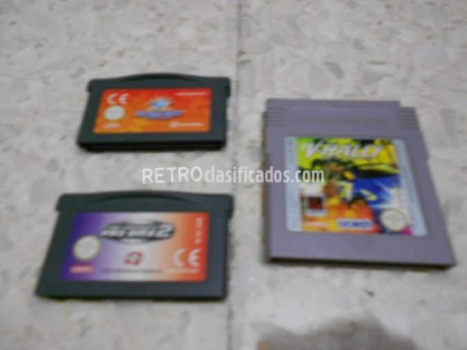 3 CARTUCHOS GAMEBOY