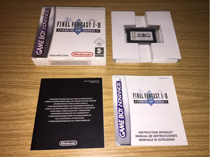 Final Fantasy I y II Dawn of Souls GBA