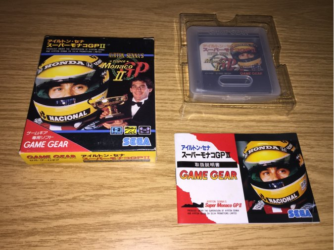 Super Monaco GP 2 Game Gear