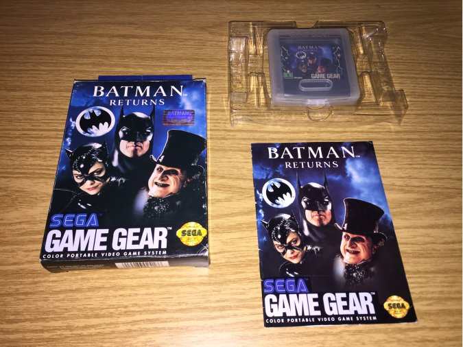 Batman Returns Game Gear