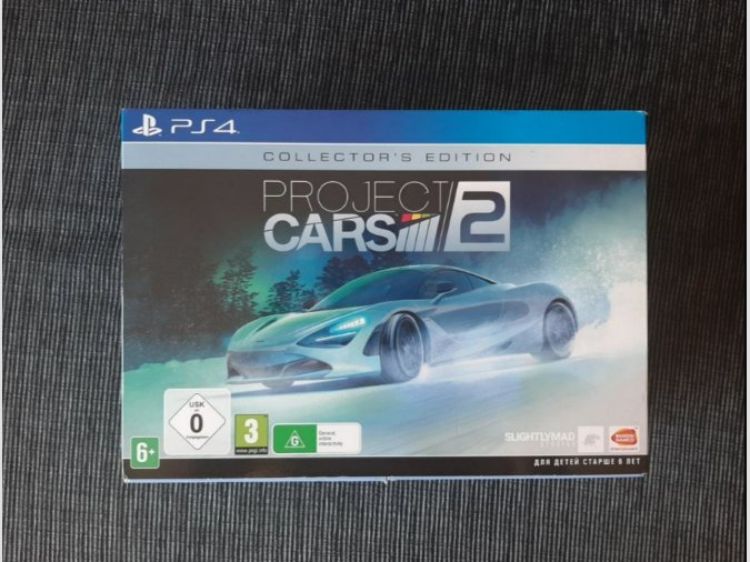 PS4 - Project Cars 2 Collector's Edition