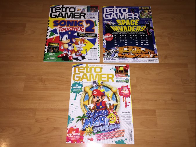 Revistas Retrogamer 22, 23 y 26