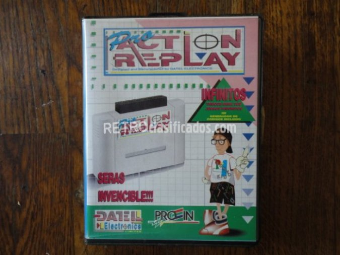 Pro Action Replay PAL (completo)