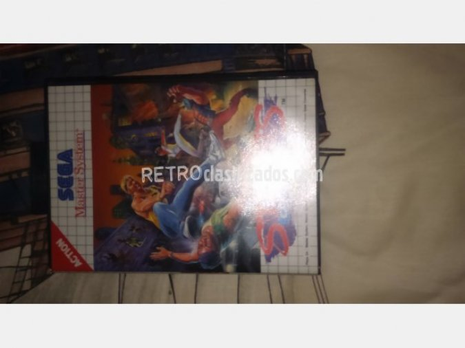 STREETS OF RAGE VENDIDO