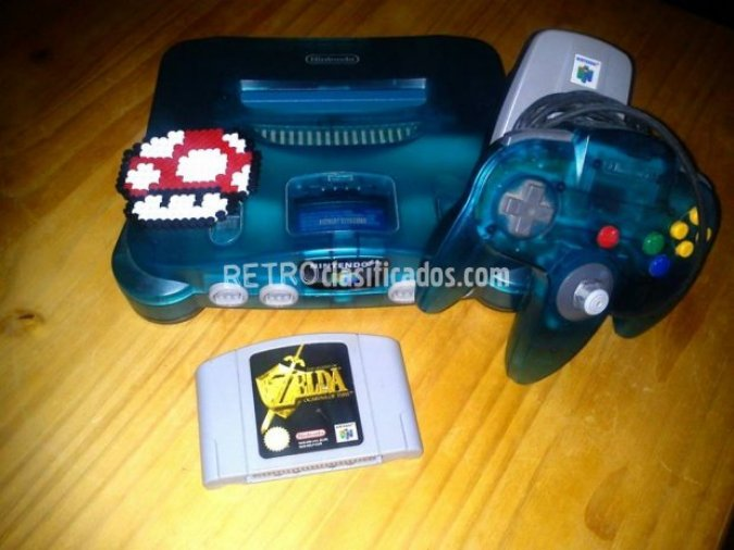 Vendo nintendo 64 zelda ocarina of time