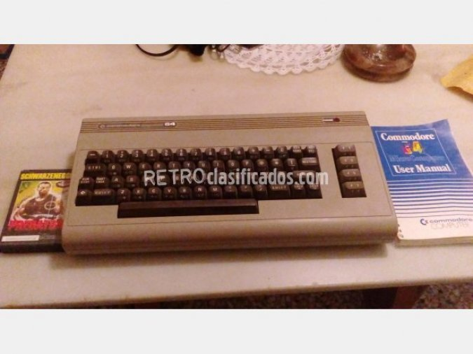 COMMODORE 64 VENDIDO