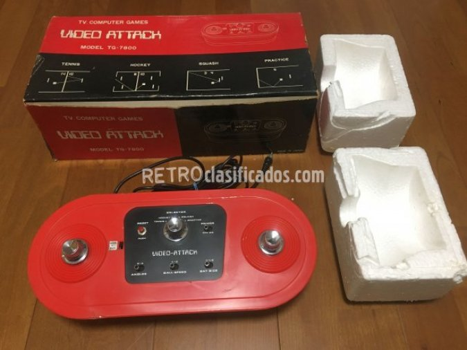 Video Attack TG-7800 con caja