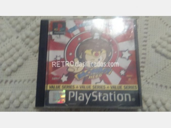 MONKEY HERO PSX PLAYSTATION