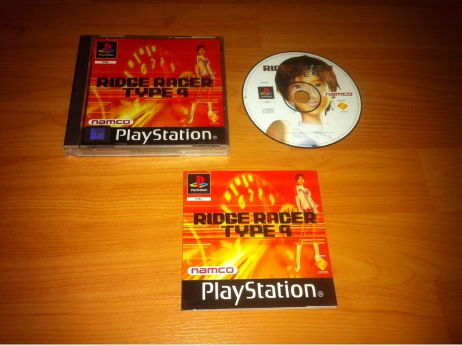 Ridge Racer Type 4 Play Station PSX