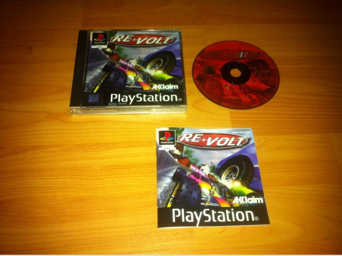 Re-Volt Play Station PSX